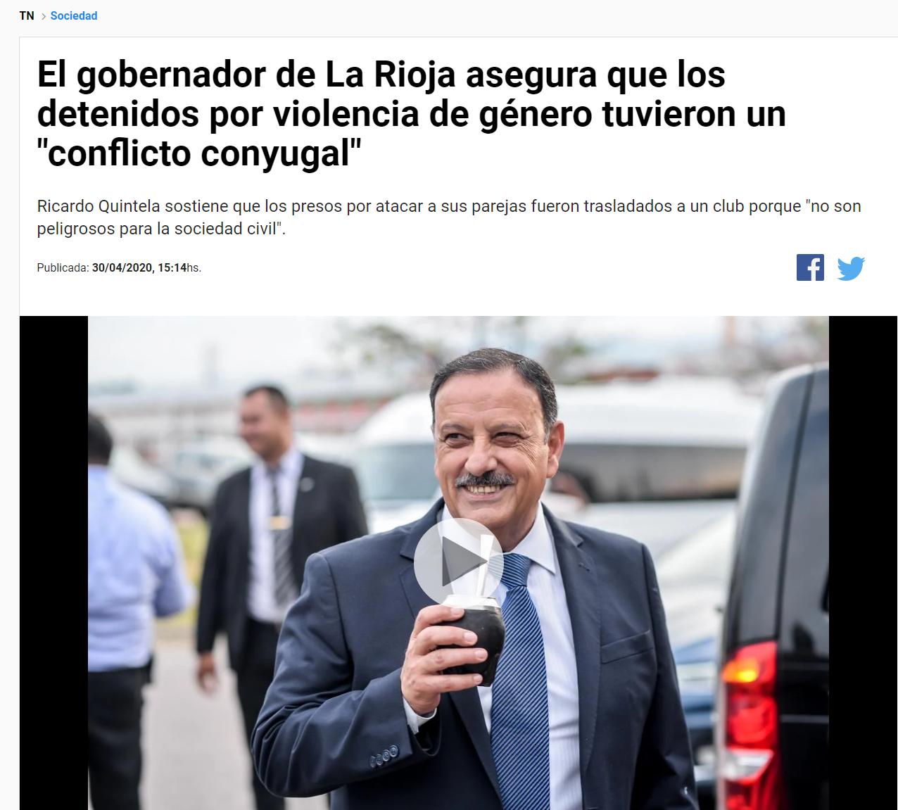 FireShot Capture 030 - El gobernador de La Rioja asegura que los detenidos por violencia de _ - tn.com.ar